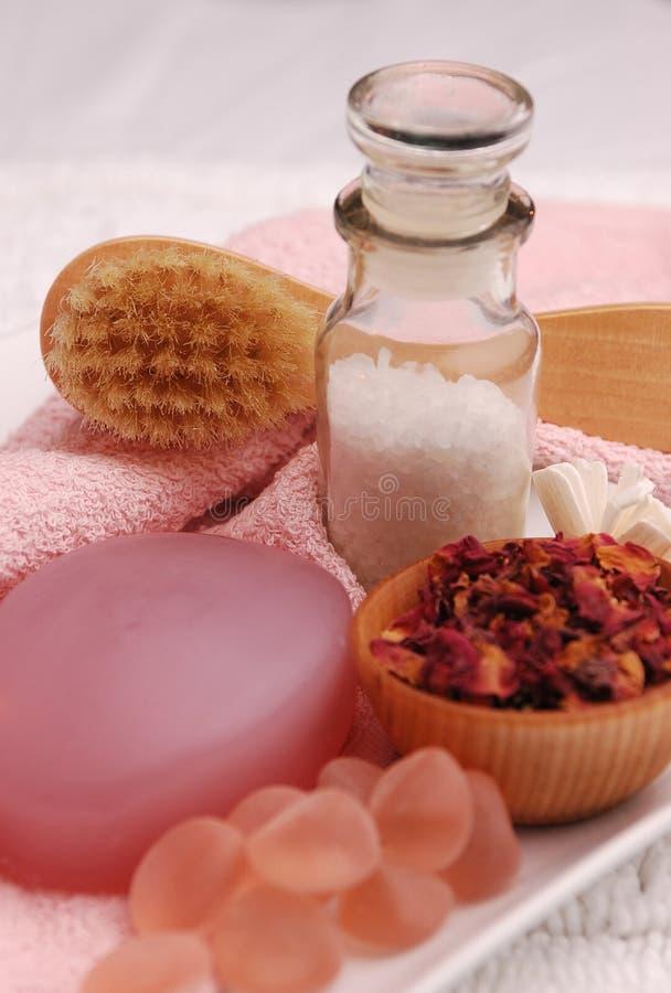 розовая милая спа 02 стоковые изображения rf