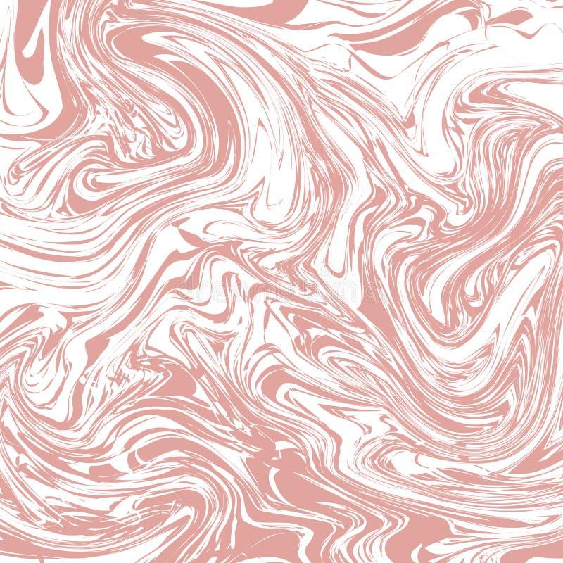 Розовая пастельная мраморная текстура иллюстрация штока