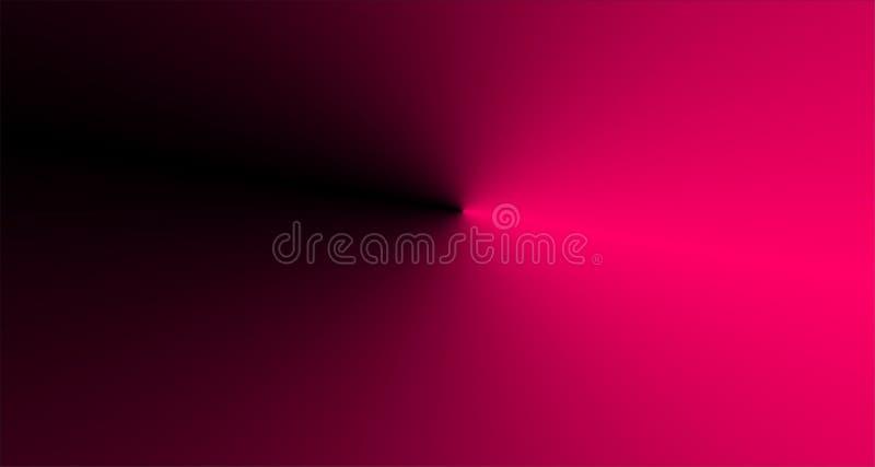 Розовая предпосылка с черным цветом, иллюстрацией вектора bacground нерезкости бесплатная иллюстрация