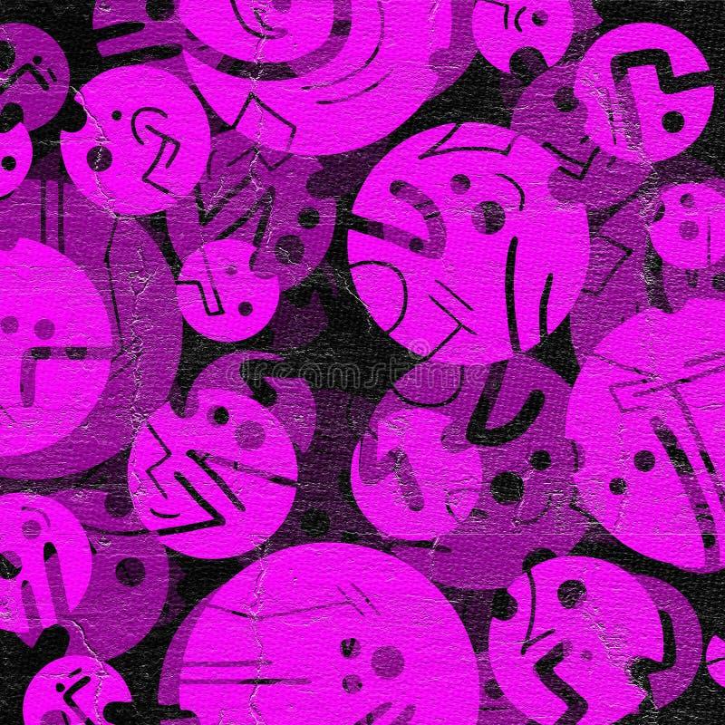 Розовая предпосылка искусства иллюстрация вектора