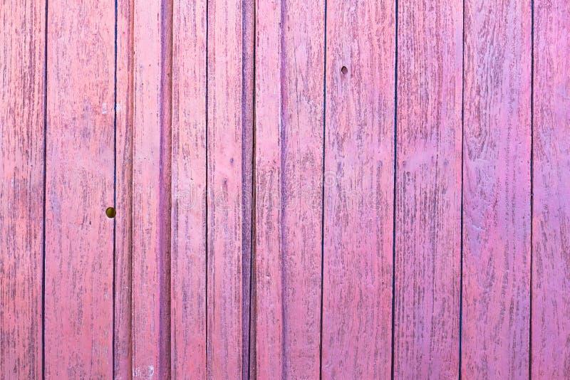 розовая древесина стены стоковая фотография rf