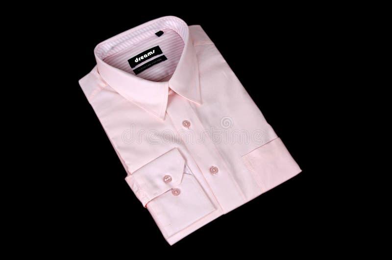 розовая рубашка стоковое изображение