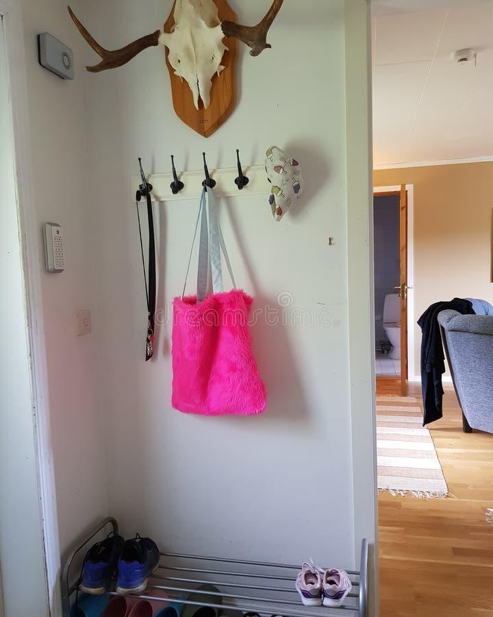 Розовая сумка стоковые фотографии rf