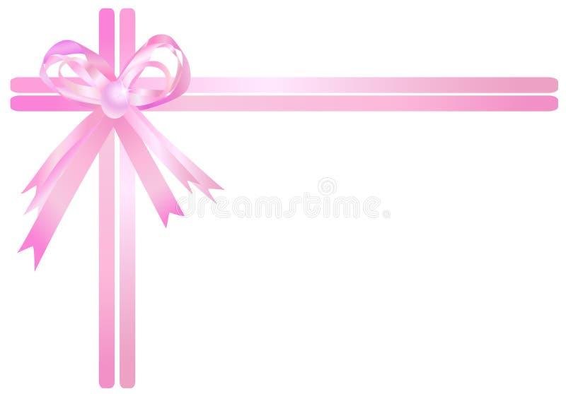 розовая тесемка бесплатная иллюстрация
