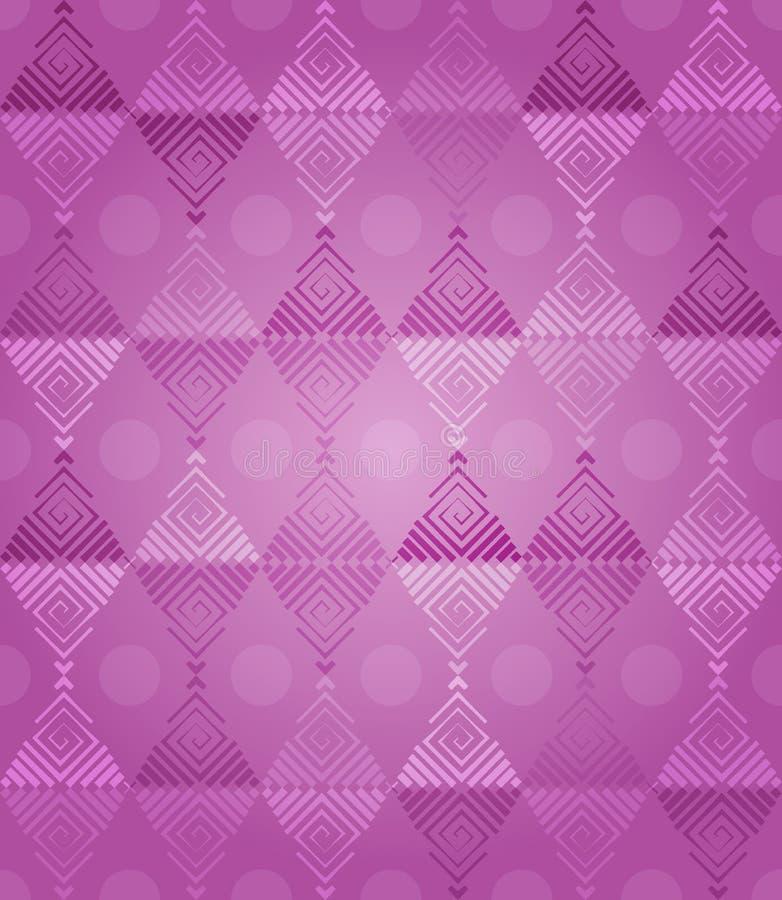 Розовая фантазия картины диамантов бесплатная иллюстрация