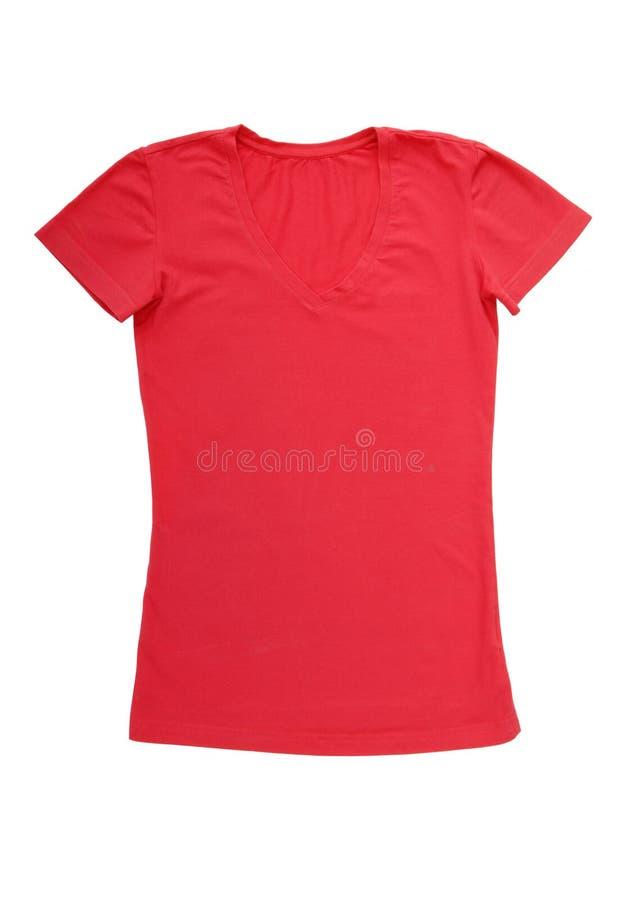 Розовая футболка стоковое изображение