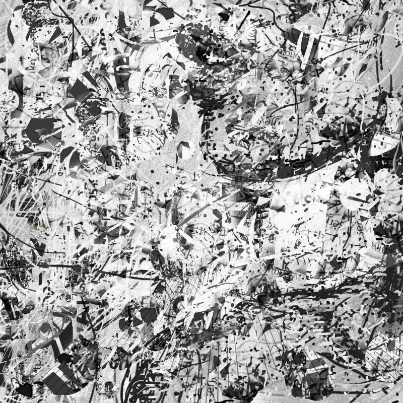 Розовое белое искусство картины современное иллюстрация штока