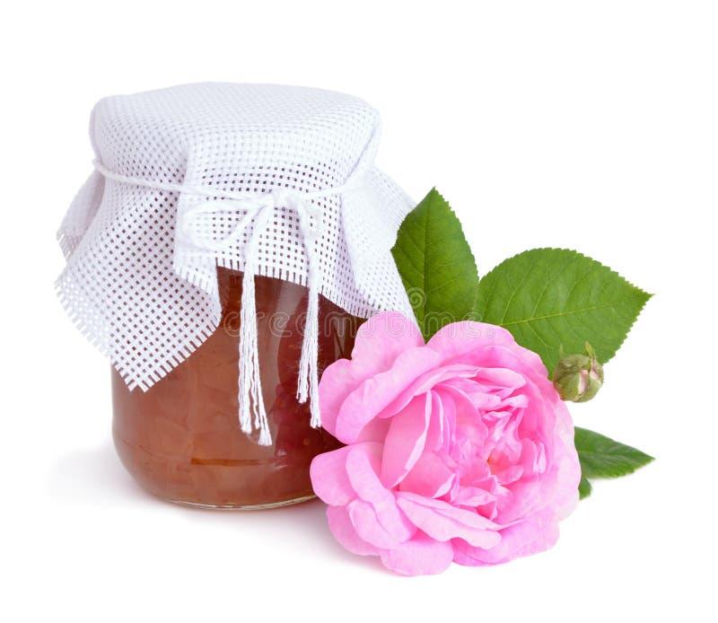 Розовое варенье роз стоковое изображение