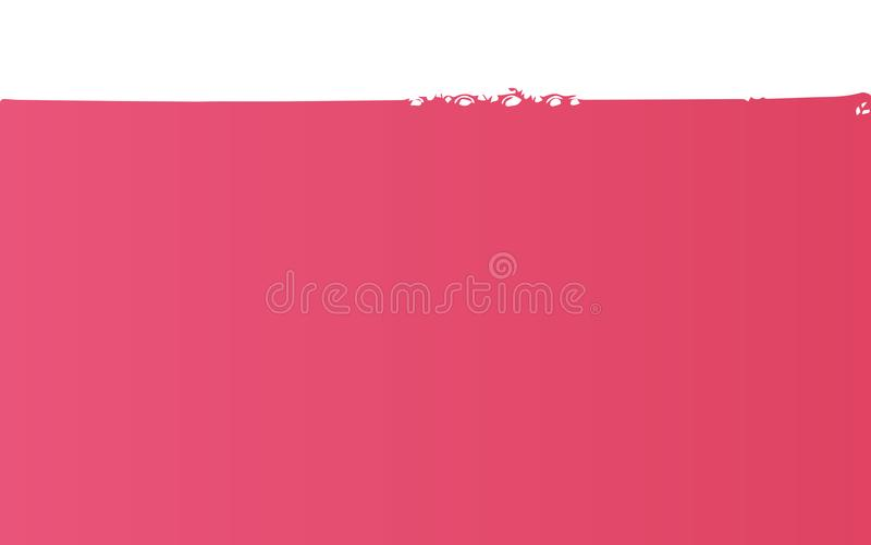 Розовое вино клокочет предпосылка иллюстрация вектора