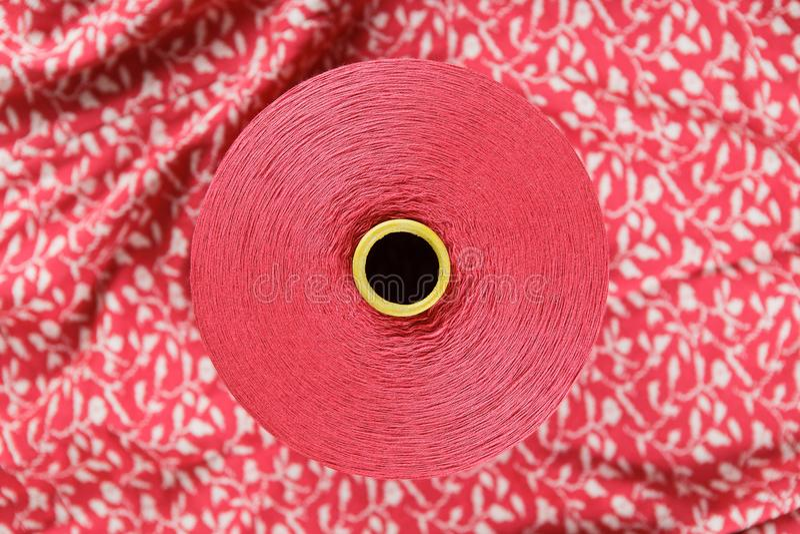Розовое пасмо цвета стоковая фотография rf