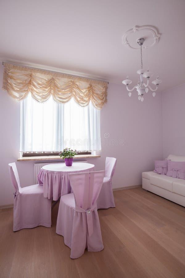 Розовое уютное место стоковое изображение rf