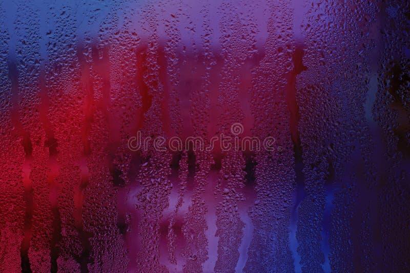 Розовое misted стекло стоковая фотография