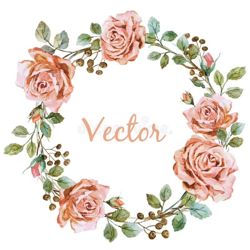 Розовое wearth бесплатная иллюстрация