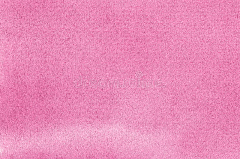 Розовые естественные handmade watercolours aquarelle красят картину текстуры, горизонтальный текстурированный крупный план макрос стоковая фотография