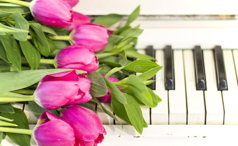 картинки тюльпаны и пианино как
