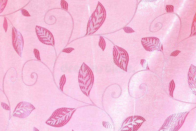 Розовые цветки Стиль концепции ткани стоковые изображения rf
