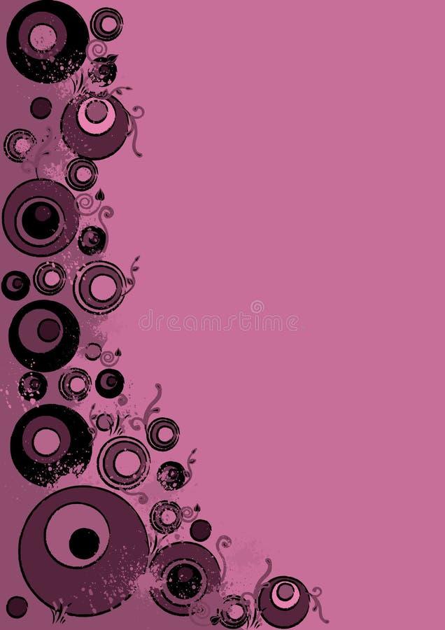Розовый абстрактный grunge стоковые фото
