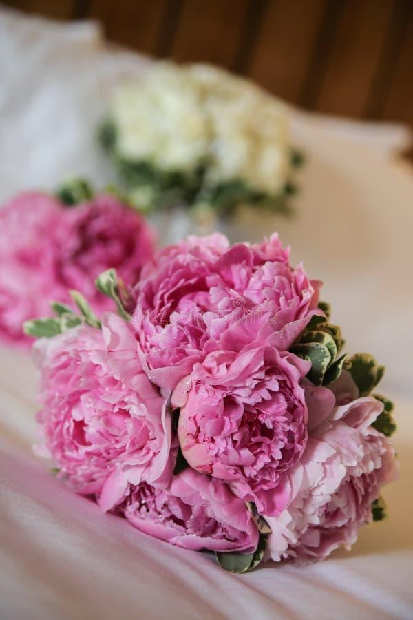 Розовый букет стоковое изображение