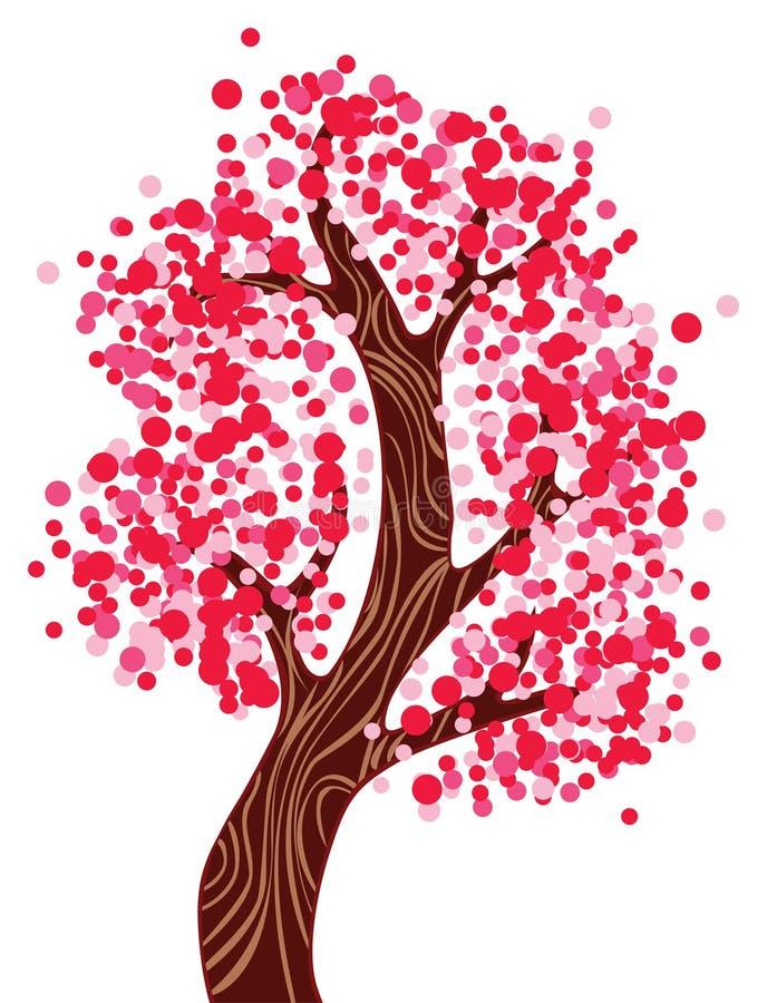 розовый вал иллюстрация штока