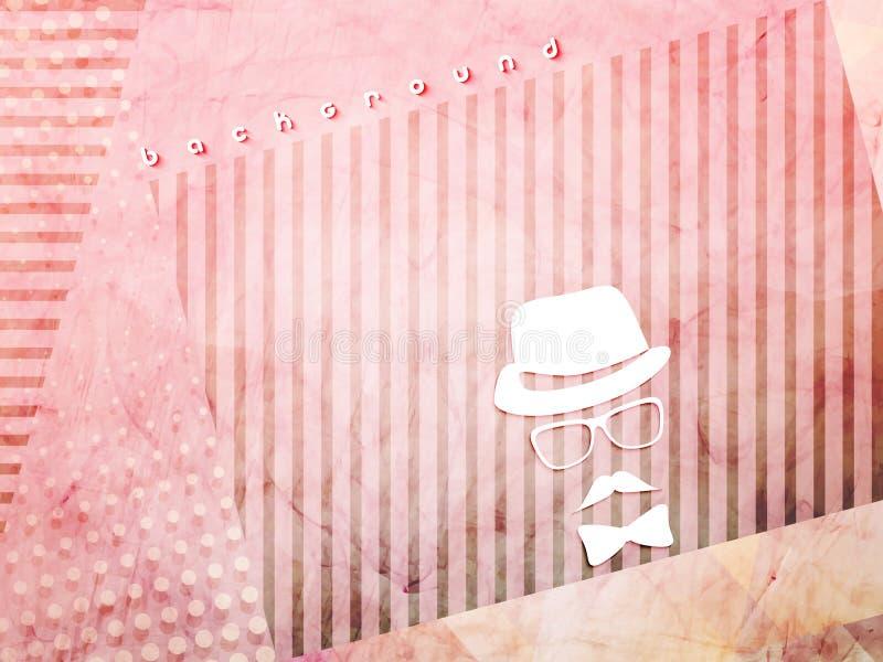 Розовый городской цемент иллюстрация штока