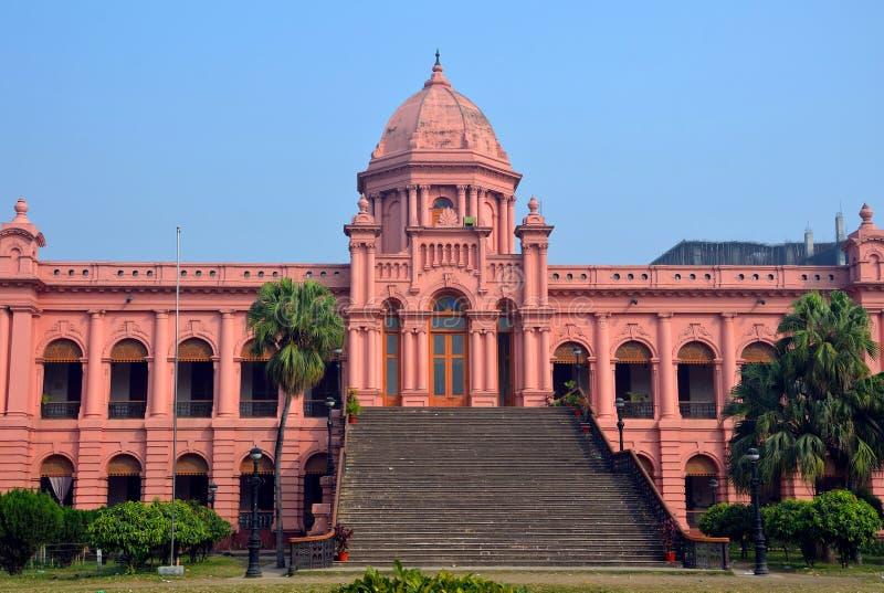 Розовый дворец стоковое фото rf