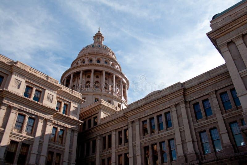 Розовый капитолий положения Техаса гранита в Остине стоковые фотографии rf