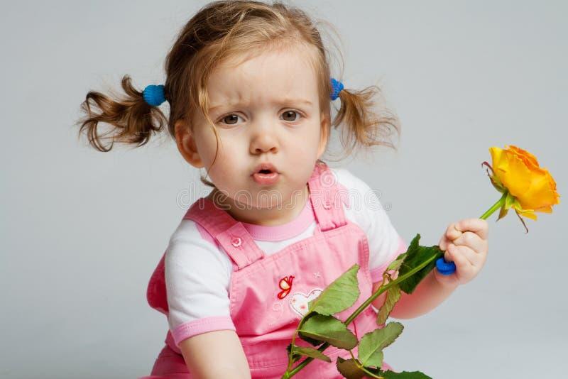 розовый малыш стоковые изображения