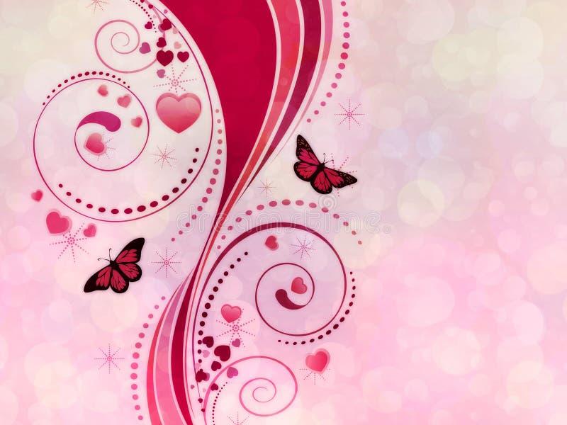 Download Розовый орнамент свирли иллюстрация штока. иллюстрации насчитывающей grunge - 33735049