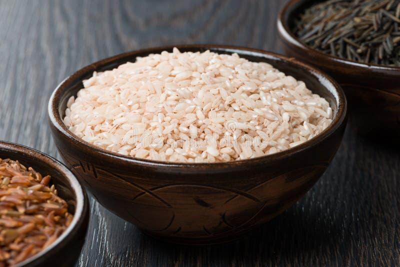 Download Розовый рис в керамическом шаре Стоковое Фото - изображение насчитывающей варить, closeup: 40590878