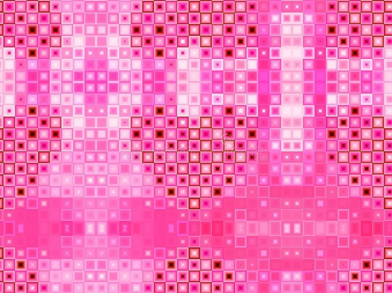 Розовый Харт иллюстрация вектора