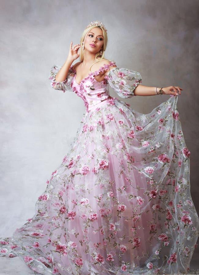 розовый princess стоковая фотография rf