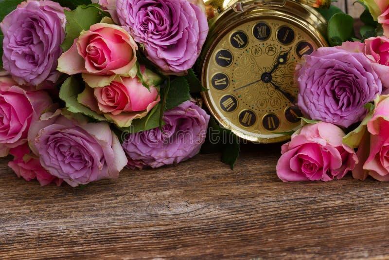 розы букета свежие стоковые фото