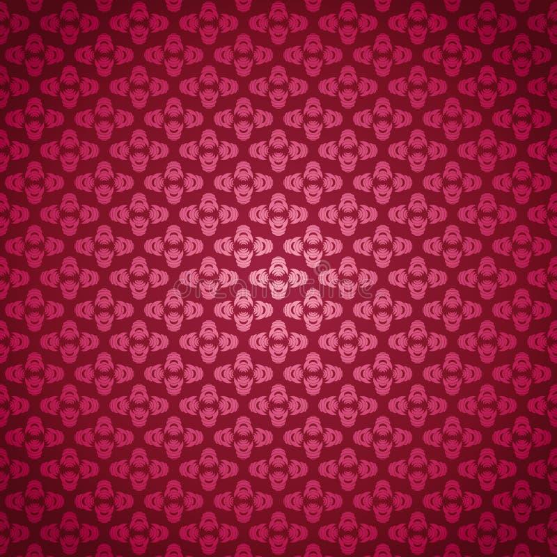 розы картины розовые безшовные иллюстрация вектора