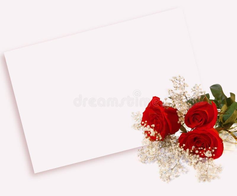 розы письма стоковое фото