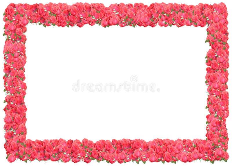розы рамки розовые бесплатная иллюстрация