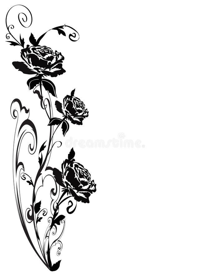 розы иллюстрация штока