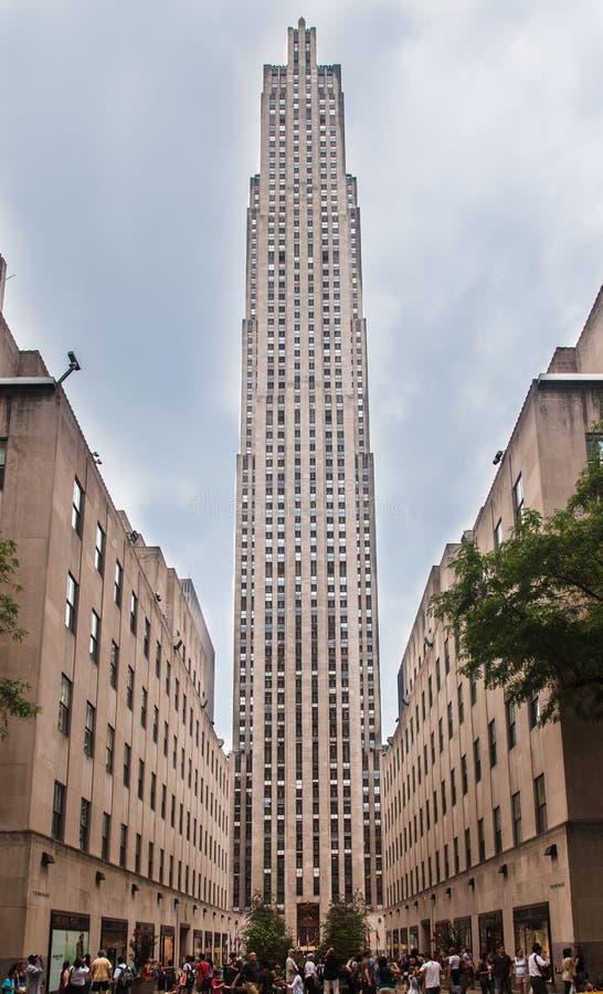 Рокефеллер разбивочное New York стоковое фото rf