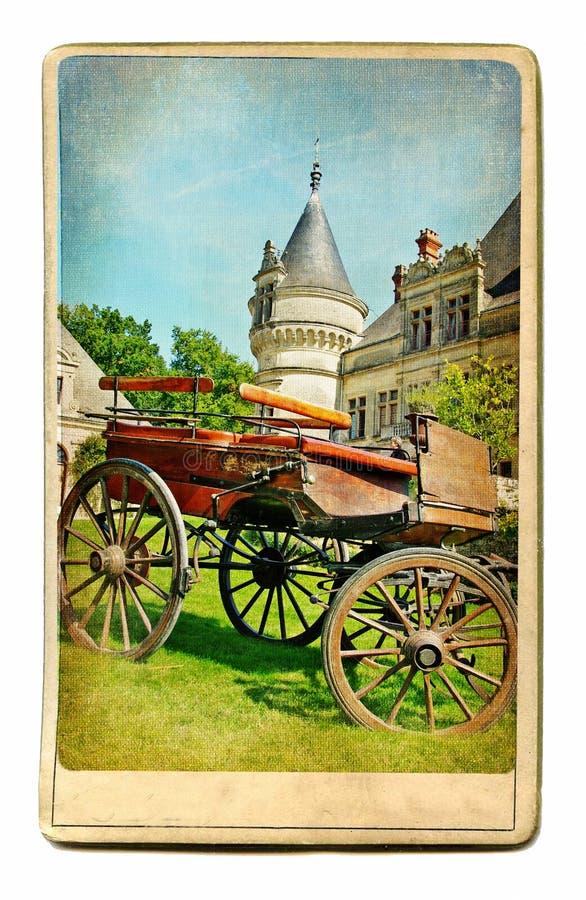 рокирует Францию стоковая фотография