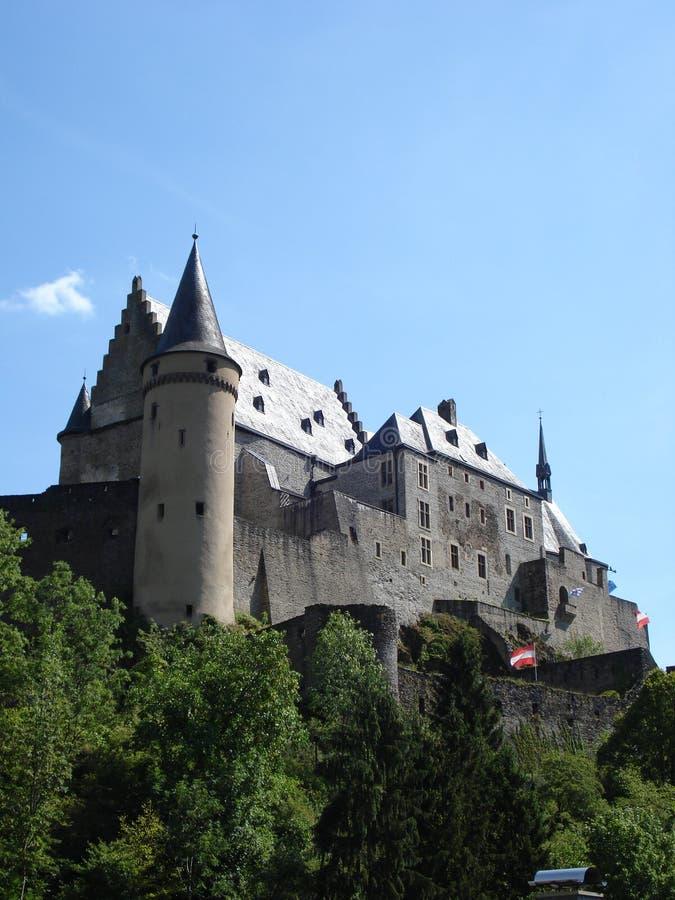 Рокируйте в окружать Viand в Люксембурге стоковое изображение rf