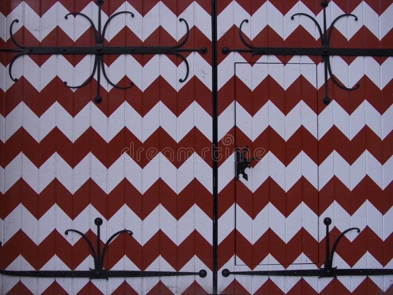 рокируйте голландец двери стоковые изображения rf