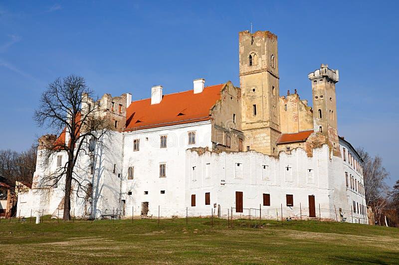 Рокируйте, городок Breclav, чехия, Европа стоковые изображения rf
