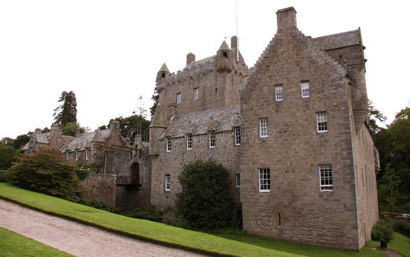 рокируйте cawdor Шотландию стоковая фотография