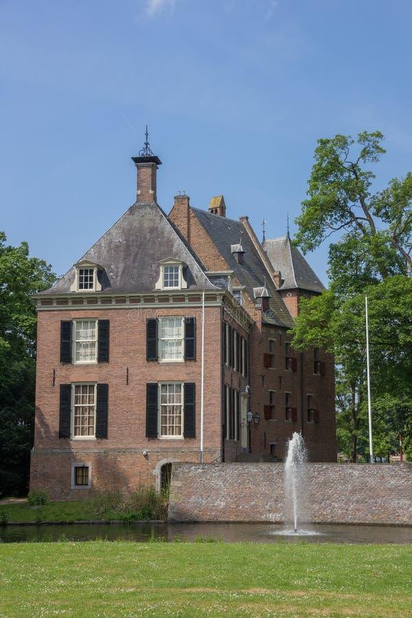 Рокируйте Kinkelenburg в историческом центре Bemmel стоковое изображение