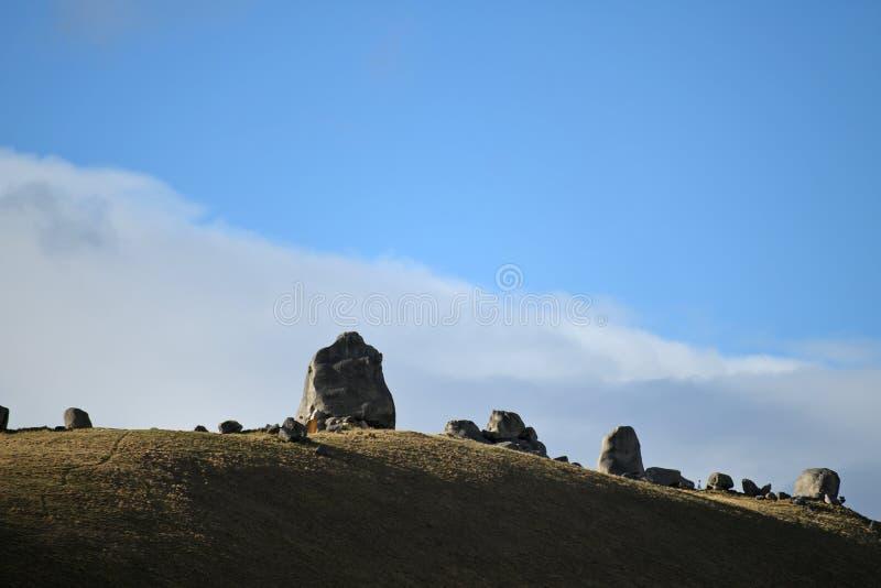 Рокки-пейзаж на Касл-Хилл стоковое фото rf