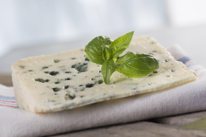 рокфор голубого сыра французский мягкий стоковое изображение