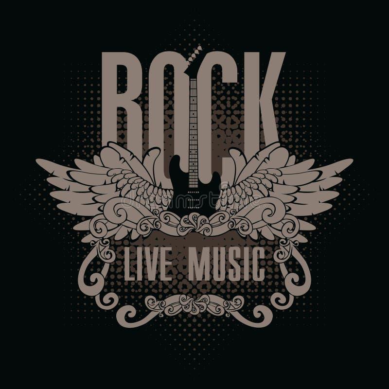 Рок-музыка бесплатная иллюстрация