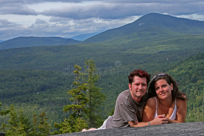 романс горы стоковое фото rf