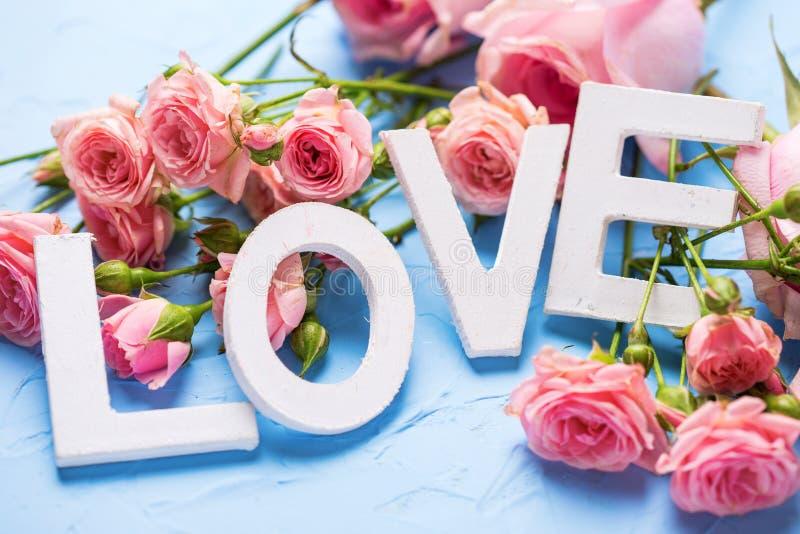 Романтичная открытка предпосылки стоковое изображение