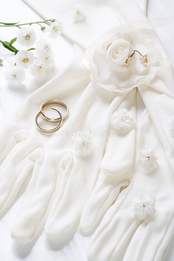 Романтичная предпосылка свадьбы стоковые фотографии rf