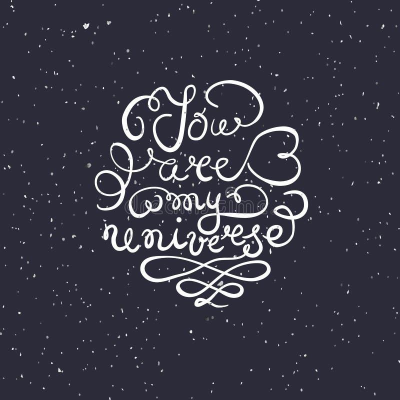 Романтичная цитата бесплатная иллюстрация